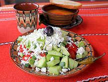 Шопската салата е най-известната българска салата